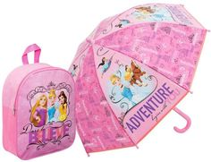 Kids Umbrella Girls Rain Disney Princess Cartoon Design School Accessories Gift for sale online Dome Umbrella, Umbrella Girl, Junior Backpacks, Disney Princess Cartoons, Princess Disney, Kids Umbrellas, Minnie Mouse Theme, Brollies, School Accessories