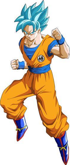 Goku Ssgss traje clasico by naironkr on DeviantArt