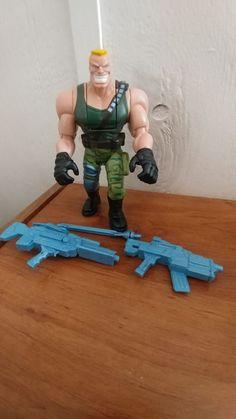 Small Soldiers Weapon Brick Bazooka Small Blue Gun Hasbro 1998 Original Part