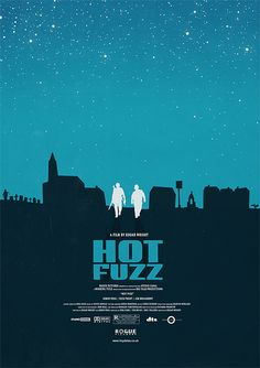 Hot Fuzz Poster from The Edgar Wright Poster Collection by Lloyd Stas