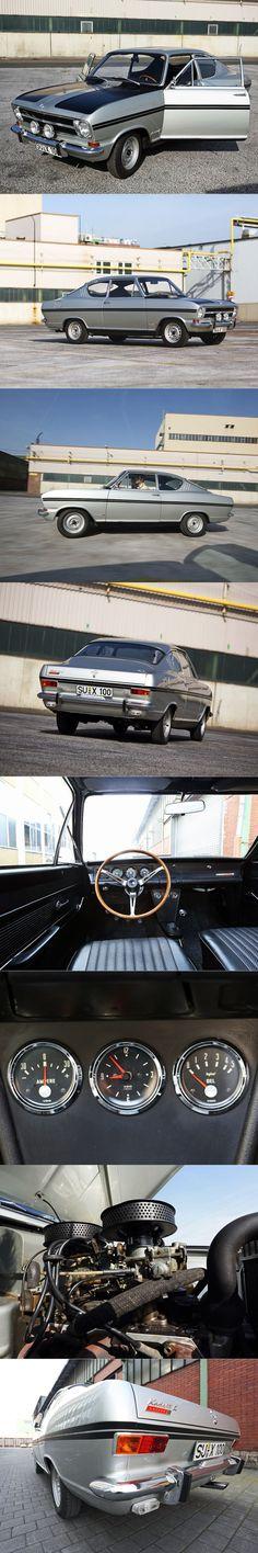 1965 Opel Rallye Kadett B / Kiemencoupé / Germany / silver / 16-57