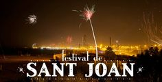 The main celebrations for Sant Joan in Barcelona take place on the evening of June 23rd before the public holiday on June 24th on what is known as the Revetlla de Sant Joan in Catalan and the Verbena de San Juan in Spanish.