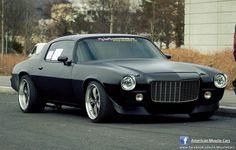 Black matte camaro