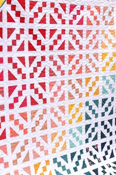 Cake Mix pre-cuts friendly quilt patterns - made by Amy Smart -Diary of a Quilter