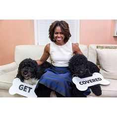 First Lady Michelle Obama Bo Obama, Best Pet Insurance, Health Insurance, American First Ladies, National Pet Day, Michelle And Barack Obama, Role Models, Presidents