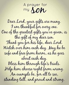 This is for both of my sons.