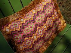 Needlepoint Bargello Pillow