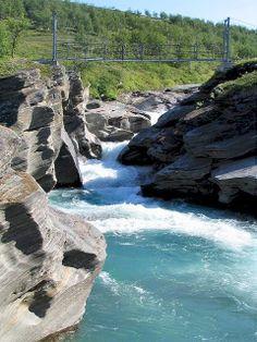 Glacial river - Padjelanta National Park, Sweden