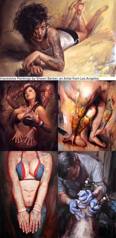 Paintings by Shawn Barber
