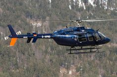 D-HPRO, Bell 407 at Innsbruck Airport