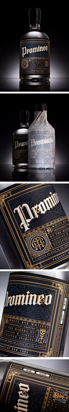 Promineo - White Rye Whiskey By Chad Michael