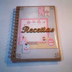 Caderno de Receitas.