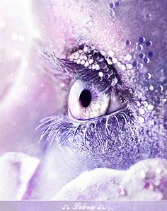 Libra eye by © Irene Zeleskou, via zeleskou.com