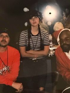 Lana Del Rey backstage at The Weeknd's concert in Inglewood, CA on April 29, 2017 #LDR