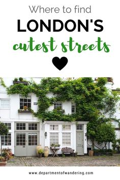 Mews Flash: These are the Cutest Streets in London