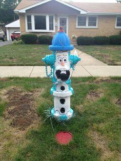 Olaf Fire hydrant