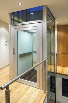 An Artisan Home Elevator looks great from any angle.