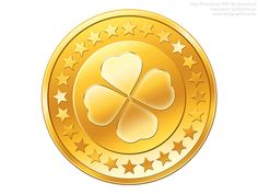 Gold coin icon, a shiny circle shape, Photoshop graphic available in an editable PSD format. A great currency symbol for web site use. Coin Icon, Photoshop, Social Bookmarking, Pot Of Gold, Gold Coins, Clip Art, Pure Products, Digital, Seo Services