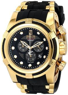 Invicta Jason Taylor 12955 Bolt Zeus Chronograph Black Carbon Fiber Dial Polyurethane Watch: Invicta: Amazon.ca: Watches