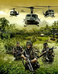The illustration of Men of War Vietnam as I finished it prior to changes for the final version. Men of War Vietnam is a game developed by Best Way. [link] Men of War Vietnam, alternate cover Vietnam History, Vietnam War Photos, Vietnam Veterans, Military Art, Military History, Gravure Illustration, Military Drawings, Military Special Forces, Army Wallpaper