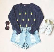 Resultado de imagen para summer outfits with shorts and converse