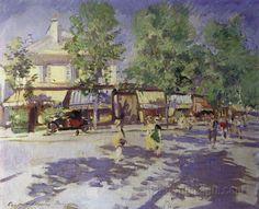 Paris in the morning  Konstantin Korovin