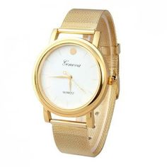 Cheap clock gold women, Buy Quality clock women gold directly from China clocks women lady Suppliers: Relogio Feminino New Lady Style Gold Classic Womens Quartz Stainless Steel Wrist Watch Relojes Mujer Montre Clock Fossil Watches For Men, Cute Watches, Vintage Watches, Women's Watches, Sport Watches, Victoria Secrets, Prada, Women's Dress Watches, Porto Rico