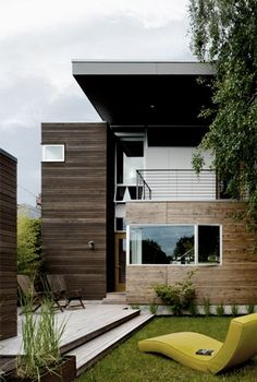 Push pull house in Seattle, Washington by mw|works architecture design