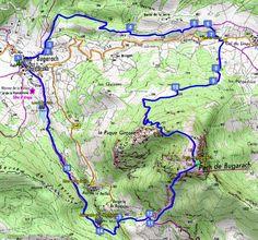 Circuit de randonnée : Bugarach, pic de Bugarach, Cascade des Mathieux