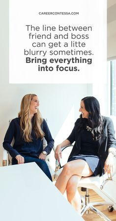 We asked two Career Contessa mentors for their tips on setting boundaries with a new employee. | Career Contessa
