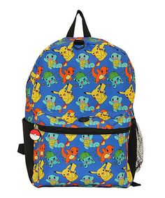 Another great find on #zulily! Pokemon Allover Character Print Backpack #zulilyfinds