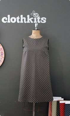 Clothkits - Make Time Shift Dress Pattern, Make Time, How To Make, Sewing Kit, Seasons, Clothes, Dresses, Women, Outfits