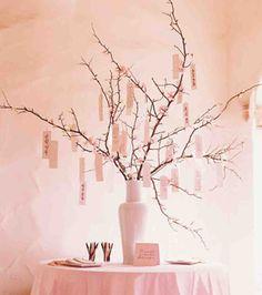 Déco pas cher : un arbre à messages comme livre d'or