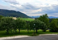 Room with a view at Landgasthof Mayr, Sankt Ulrich bei Steyr July 2018 Motorcycle Adventure, Steyr, Slovenia, Czech Republic, Denmark, Austria, Germany, Country Roads, Italy