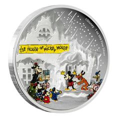 This coin makes a terrific gift for the holidays, or at any time for a lover of Disney characters!