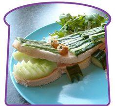 Alligator sandwich.