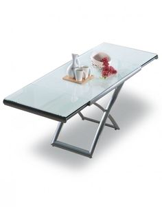 Space saving furniture is our specialty at Expand Furniture. Our extending glass table transforms from a coffee table to a dining table that seats Expand Furniture, Space Saving Furniture, Furniture Ideas, White Gloss Paint, Space Saving Table, Convertible Furniture, Bed Wall, Modular Sofa, Glass Table