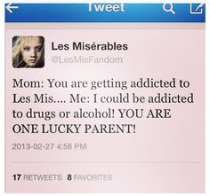 It's true....my parents are lucky.