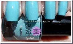 esmalte azul sixties Make B O Boticário SAM_3535  #nailpolish #esmaltesempre
