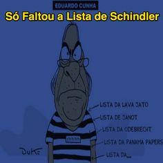 Só Faltou a Lista de Schindler ②⓪①⑥ ⓪④ ⓪⑤ #Cunha