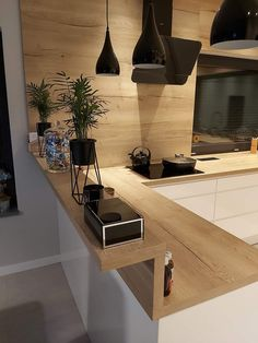 Kitchen Room Design, Modern Kitchen Design, Home Decor Kitchen, Interior Design Kitchen, Kitchen Ideas, Home Design Decor, Küchen Design, Modern Kitchen Interiors, Modern Luxury