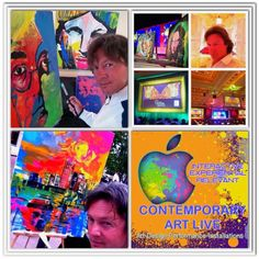 SPEED PAINTING PERFORMANCE DIRECT FROM LAS VEGAS BY JEAN FRANCOIS EXTREME ART