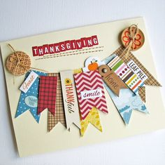 Thanksgiving by CardBlancToo on Etsy, $2.99