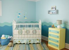 Under the Sea baby's room. So sweet!