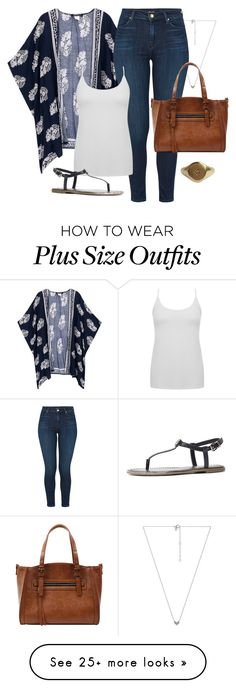 """Summer Kimono No.3"" by coolchick1630 on Polyvore featuring EF Collection, J Brand, M&Co, Emilie M and Tommy Hilfiger"