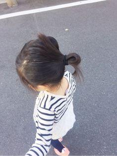 髪の毛アップ