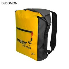 Sports & Entertainment Camping & Hiking Trend Mark Fashionable Design 25l Men Women Waterproof Outdoor Travel Sports Swimming Backpack Ultra Lightweight Pvc Backpack To Have A Unique National Style