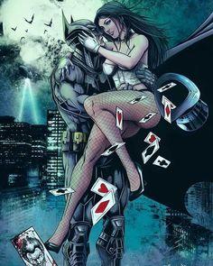Zatanna and Batman by ArtKSI - Batman Poster - Trending Batman Poster. - Zatanna and Batman by ArtKSI Arte Dc Comics, Zatanna Dc Comics, Batman Poster, Batman Artwork, Batwoman, Nightwing, Batgirl, Batman Love Interests, Marvel Heroes