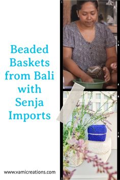 Have you heard of Senja Imports or seen beautiful beaded baskets and wanted to learn more about them? Click through to find out more about Senja Imports, the women behind the baskets and how these stunning baskets can be used.