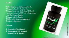 Did you know that your body doesn't create the essential fatty acids that it needs? Plexus MegaX combines the benefits of omega 3, 6, 9, 5 and 7 all in one sustainable, ALA and SDA-rich, heart and brain health softgel. It is truly the complete omega product!* - See more at: http://loldner.myplexusproducts.com/plexus-megax#sthash.FcQO91H2.dpuf
